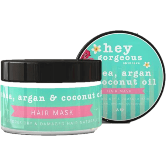 Hey Gorgeous Shea, Argan and Coconut Oil Hair Mask 200g (Frizzy or dry hair)