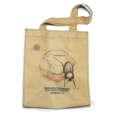 Uzwelo Dung Beetle Recycled Shopper Bag