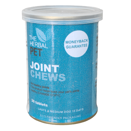 Herbal Pet Joint Chews 30 Tablets