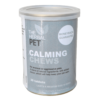 The Herbal Pet Calming Chews 30 Tablets