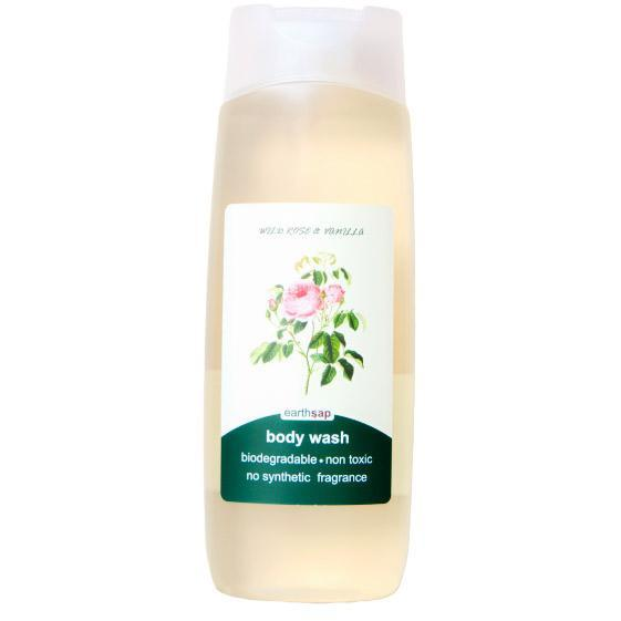 Earthsap Wild Rose and Vanilla Body Wash