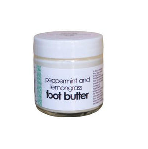 Victorian Garden Peppermint and Lemongrass Foot Balm