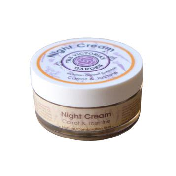 The Victorian Garden Carrot and Jasmine Night Cream 50ml (Normal or Combination Skin)