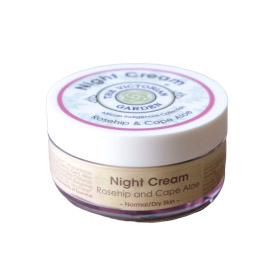 The Victorian Garden Rosehip and Cape Aloe Night Cream 50ml (Normal or Dry Skin)