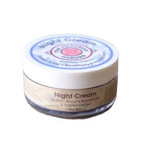The Victorian Garden Queen Anne's Rosemary and Franckincense Night Cream 50ml (Dry Skin)