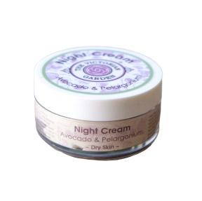 The Victorian Garden Avocado and Pelargonium Night Cream 50ml (Dry Skin)