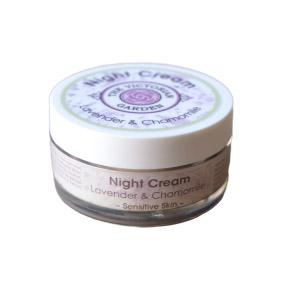 The Victorian Garden Lavender and Chamomile Night Cream 50ml (Dry or Sensitive Skin)