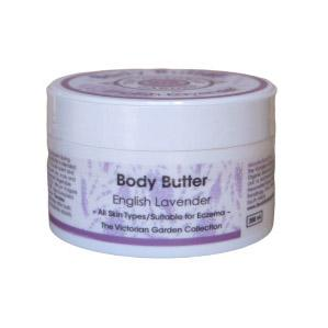 The Victorian Garden English Lavender Body Butter 200ml