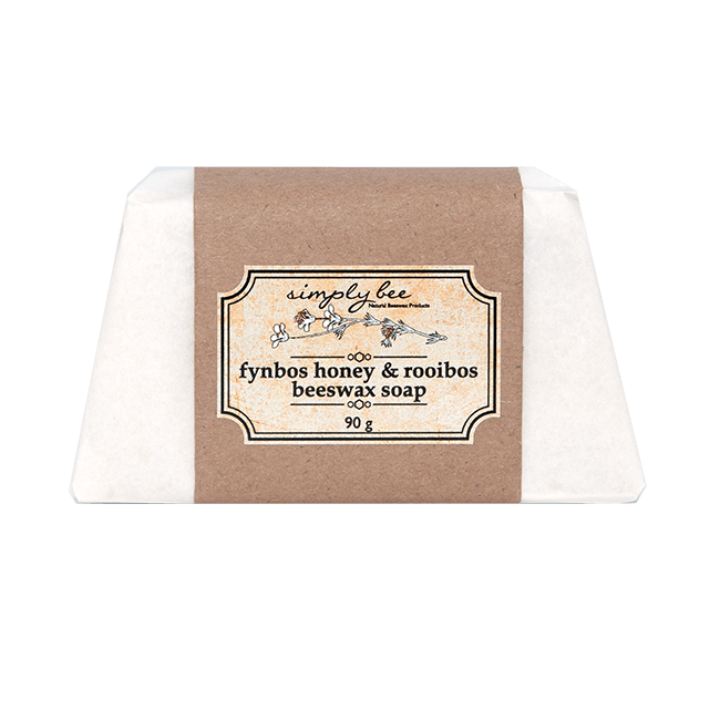 Simply Bee Fynbos Honey and Rooibos Beeswax Soap 90g