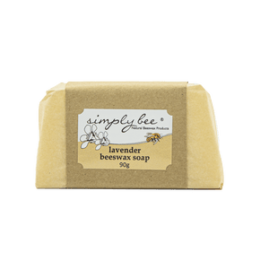 Simply Bee Lavender Beeswax Soap 90g