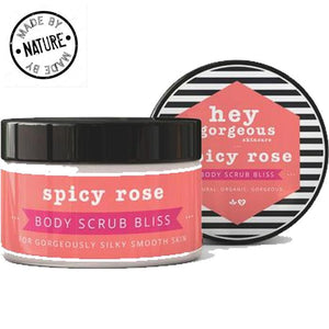 Hey Gorgeous Spicy Rose Whipped Mousse Body Butter
