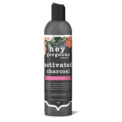 Hey Gorgeous Activated Charcoal Cleanser 250 ml (Acne Prone Skin)