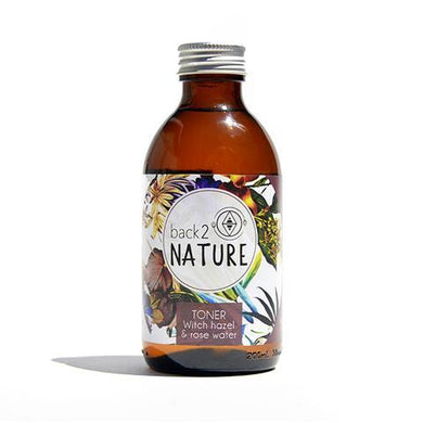 Back 2 Nature Witch Hazel and Rose Water Toner 200ml