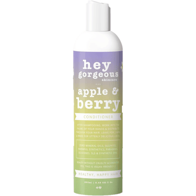 Hey Gorgeous Apple and Berry Conditioner 250ml (Normal or oily hair)