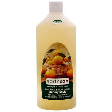 Earthsap Orange and Mandarin Machine and Handwash Laundry Liquid 500ml