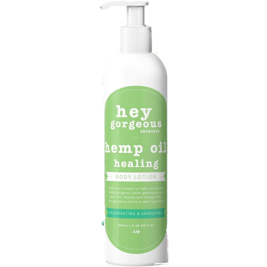Hey Gorgeous Hemp Oil Healing Body Lotion 250ml (Dry or Damaged Skin)
