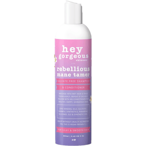 Hey Gorgeous Rebellious Mane Tamer Shampoo and Conditioner 250ml  (Frizzy or curly hair)