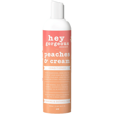 Hey Gorgeous Peaches and Cream Conditioner 250ml (Frizzy or Dry Hair)