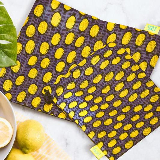 Uzwelo Lemons Recycled Produce Bags Small