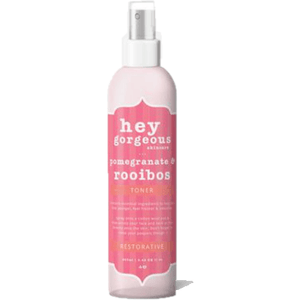 Hey Gorgeous Pomegranate and Rooibos Toner 250ml (Dry or Mature Skin)