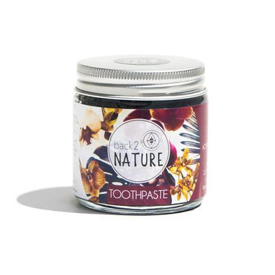 Back 2 Nature Activated Charcoal Toothpaste 100ml