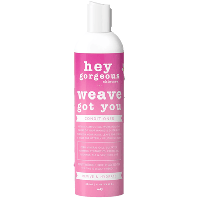 Hey Gorgeous Weave Got You Conditioner 250ml (Wigs and weaves)