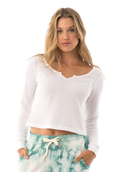 Maaji Dew Pearl Cropped Long Sleeve - Maaji Colombia