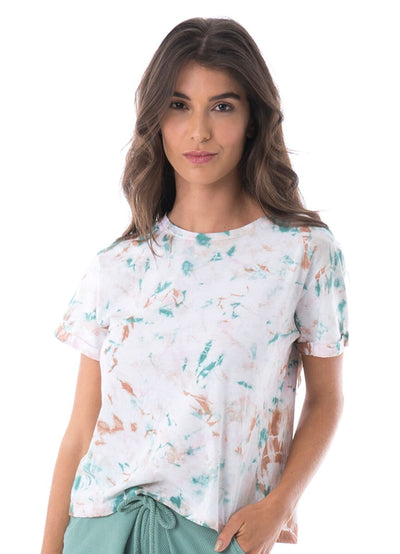 Maaji Reverie Misty Tie Dye Short Sleeve Tee - Maaji Colombia