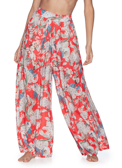 Maaji Flower Petals High Waisted Beach Pants - Maaji Colombia