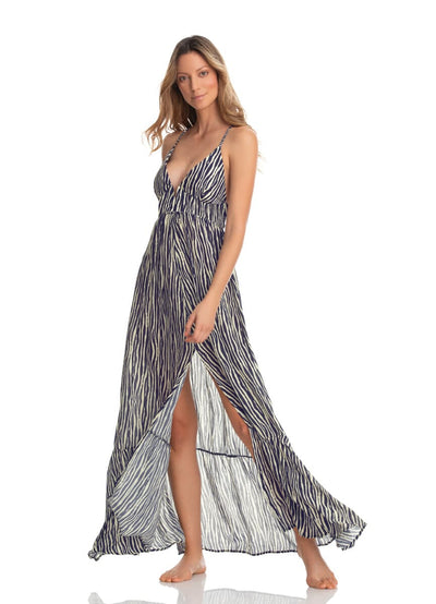 Maaji Zebra Odyssey Long Dress - Maaji Colombia
