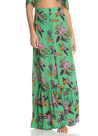 Maaji Andromeda Trop Tropic Long Skirt - Maaji Colombia