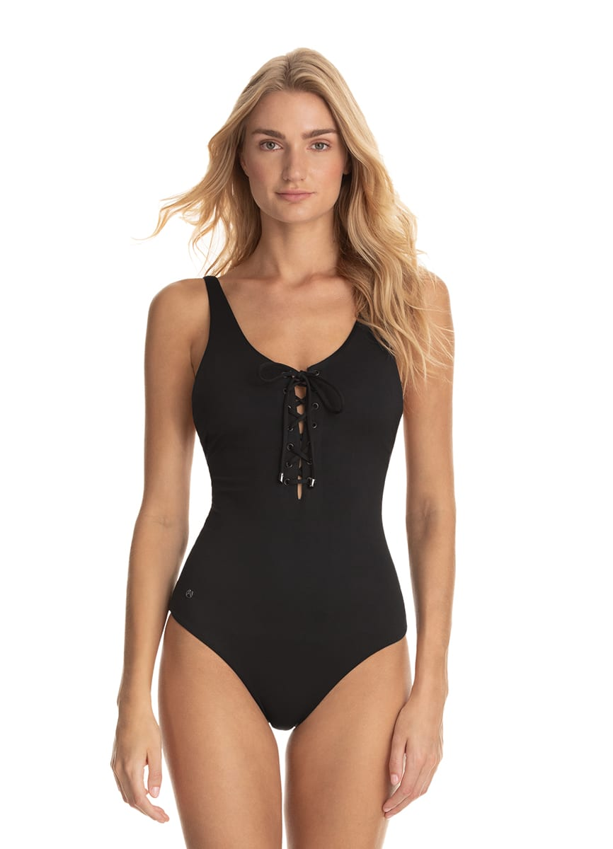 Maaji Hat Black Heavenly Reversible One Piece - 3050SOB04