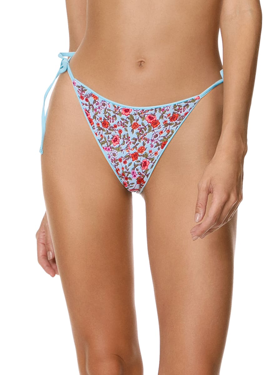 Maaji Cloud Blue Isabella Tie Side Bikini Bottom - Maaji Colombia