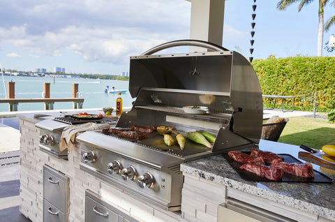 """Blaze Professional LUX Grill with Blaze 16"""" Professional Power Burner Natural Gas"""