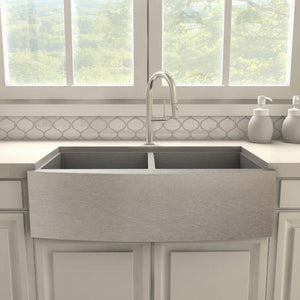 ZLINE Voltaire Kitchen Faucet in Brushed Nickel, VLT-KF-BN test