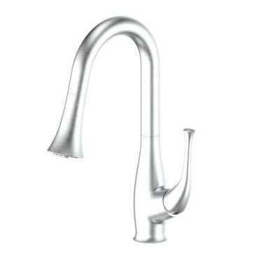 ZLINE Shakespeare Kitchen Faucet in Brushed Nickel, SHK-KF-BN