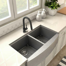 ZLINE Dante Kitchen Faucet in Electric Black Matte, DNT-KF-MB