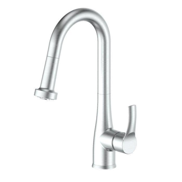 ZLINE Dali Kitchen Faucet in Brushed Nickel, DAL-KF-BN