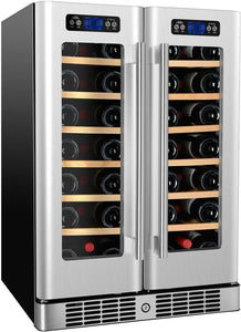 "Kucht Professional 24"" Dual Zone Wine Cooler (40 Bottle Capacity), K148AH22 test"
