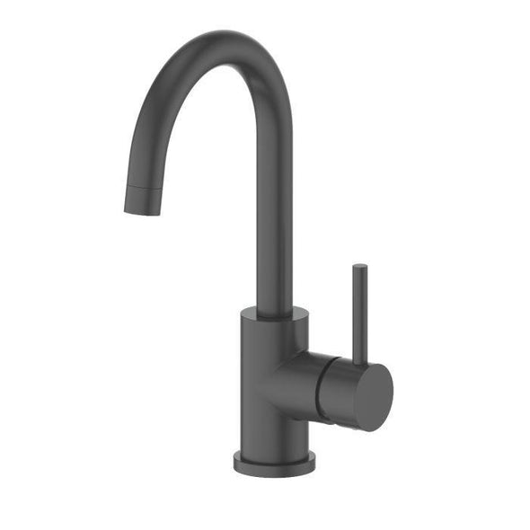 ZLINE Renoir Kitchen Faucet in Electric Matte Black, REN-KF-MB