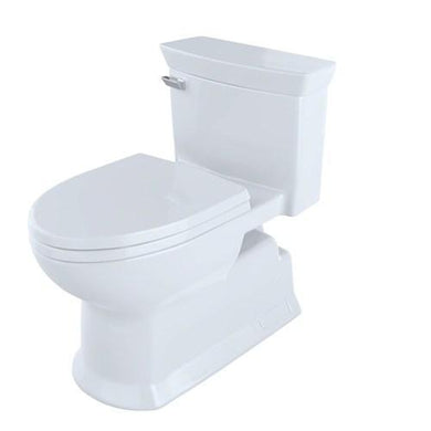 Toto Soirée 1.28 GPF (Water Efficient) Elongated One-Piece Toilet (Seat Included), MS964214CEFG#01