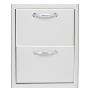 Blaze 16 Inch Double Access Drawer, BLZ-DRW2-R