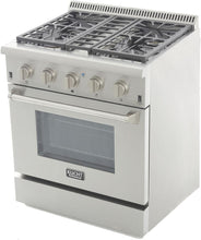 "Kucht Professional 30"" 4.2 cu ft. Natural Gas Range with Silver Knobs, KRG3080U-S"