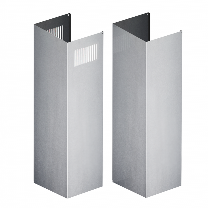 ZLINE 2 Piece Chimney Extensions for 12ft Ceiling (2PCEXT-KB/KL2/KL3-304)