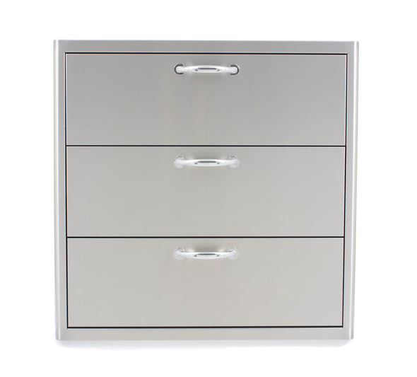 Blaze 30 Inch Triple Access Drawer, BLZ-30W-3DRW