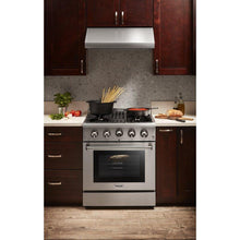 "Thor Kitchen 30"" Natural Gas Burner/Electric Oven Range in Stainless Steel, HRD3088U"