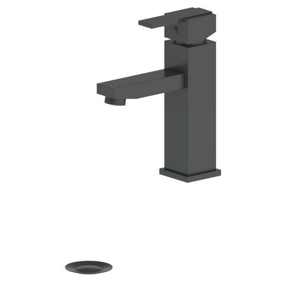 ZLINE Spooner Bath Faucet in Electric Matte Black, SPN-BF-MB