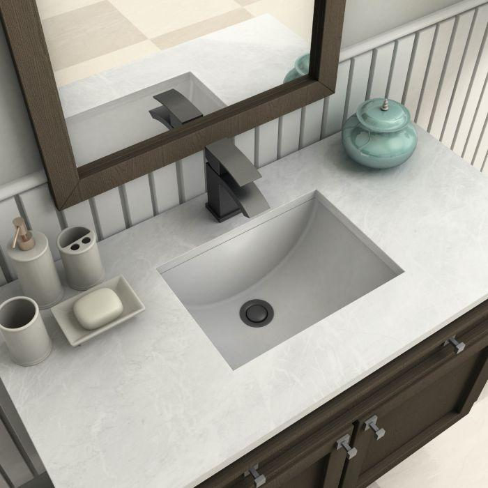ZLINE Zephyr Bath Faucet in Electric Matte Black, ZEP-BF-MB