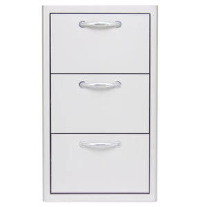 Blaze 16 Inch Triple Access Drawer, BLZ-DRW3-R