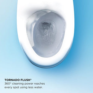 Toto Drake II 1.0 GPF Elongated Two Piece Toilet S300e, MW454574CUFG#01 test